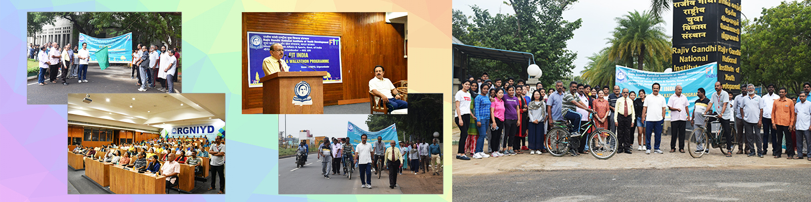 FIT India Cyclathon / Walkathon held on 18th January 2020